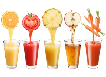 Monitoring of key minerals in liquid food products